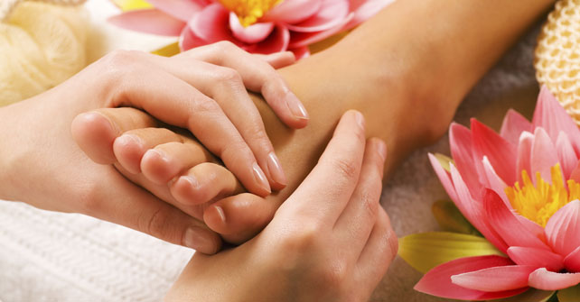 Foot Massage wellness retreats Vancouver